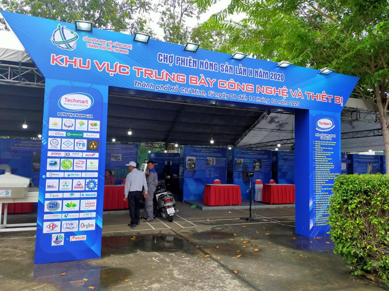 Dai Nam participates in the Tenth Agricultural Market in 2020